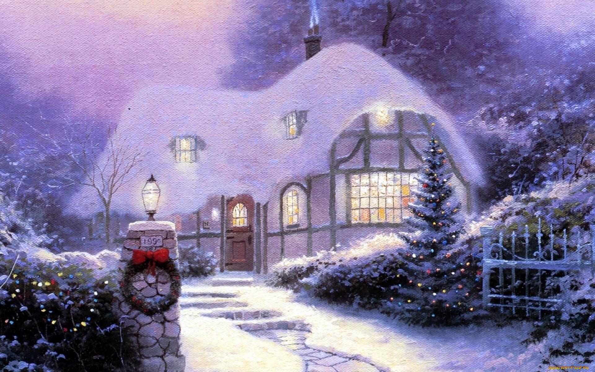 помощью картинка снежные домики этой антологии
